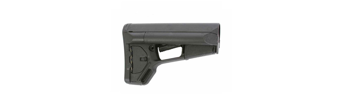 MAGPUL BLACK ADAPTABLE CARBINE STOCK WITH STORAGE (ACS)